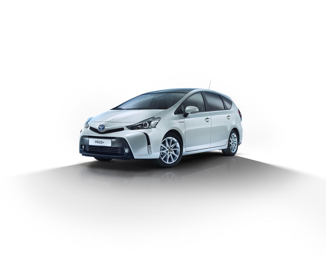 Toyota Grand Prius Plus: nieuw gamma 2018 nouvelle gamme