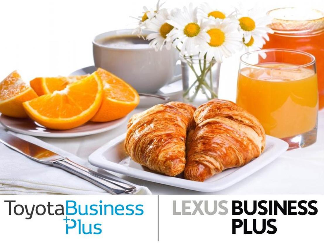 Invitation Fleet Breakfast de Toyota et Lexus pendant le Salon Auto 2018