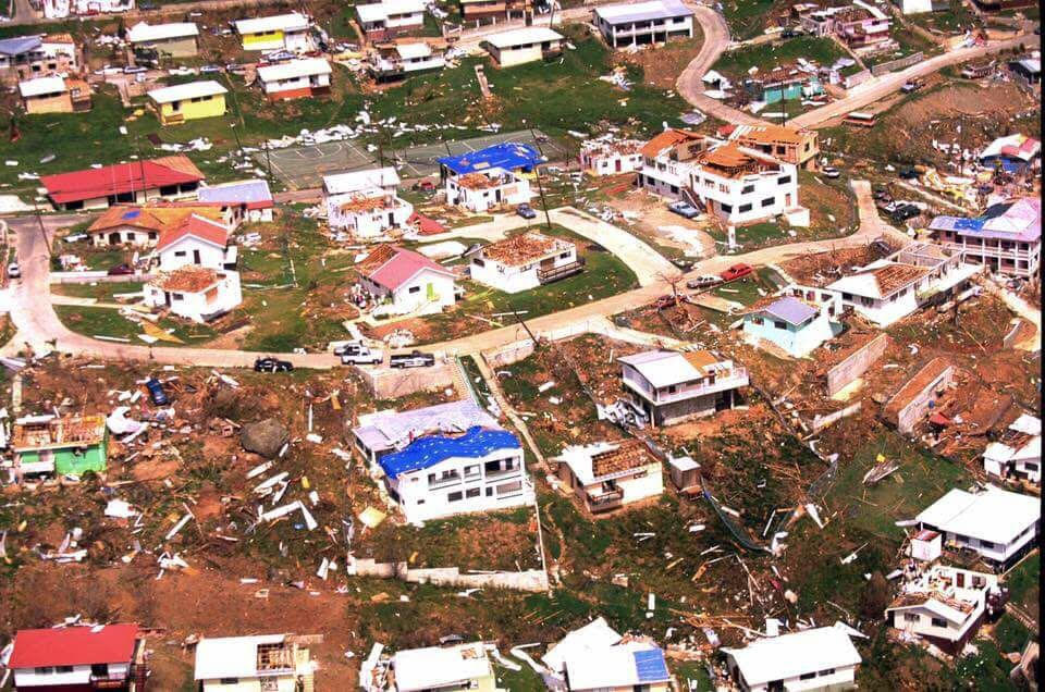 Visuals of regional destruction post-Hurricane Irma.