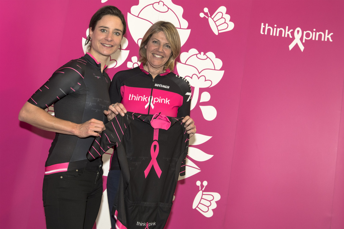 Think-Pink verovert de Ronde van Vlaanderen