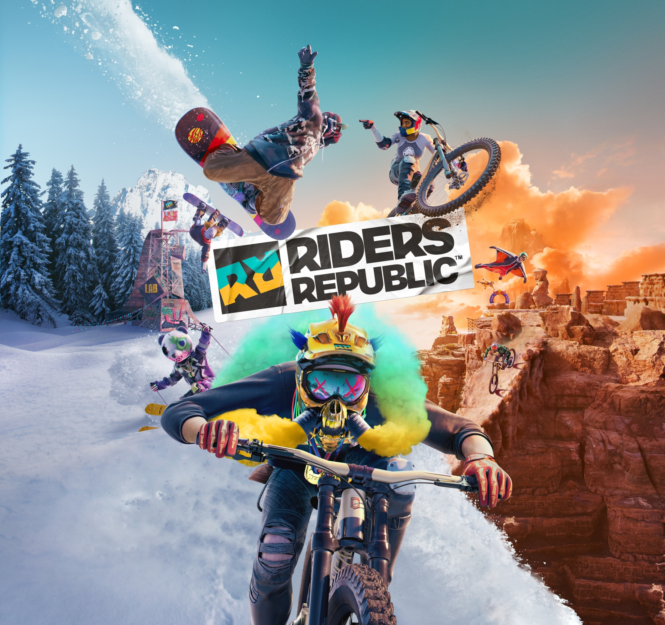 Preview: UBISOFT KÜNDIGT RIDERS REPUBLIC™ AN