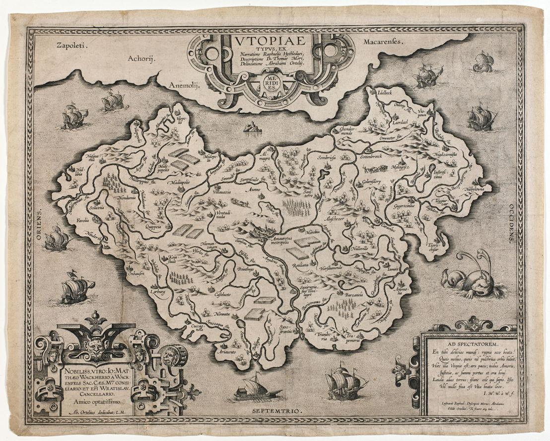 Ortelius, Utopia, Koning Boudewijnstichting, foto: Michel Wuyts en Bart Huysmans