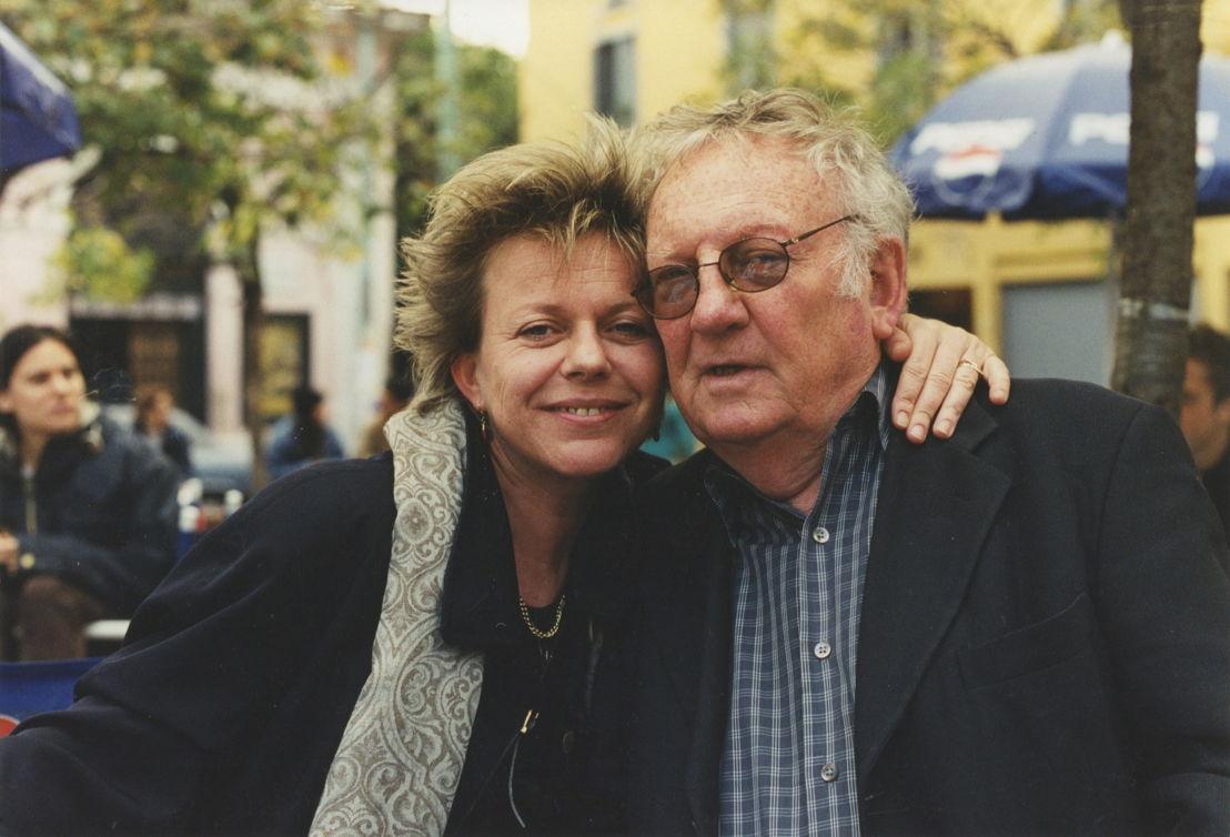 Connie Palmen en Hugo Claus
