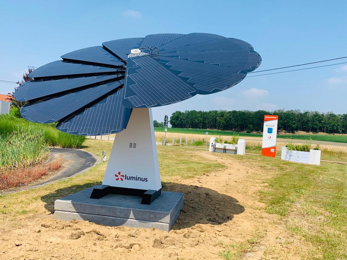 De l'énergie verte le long du réseau cycliste à Hoegaarden