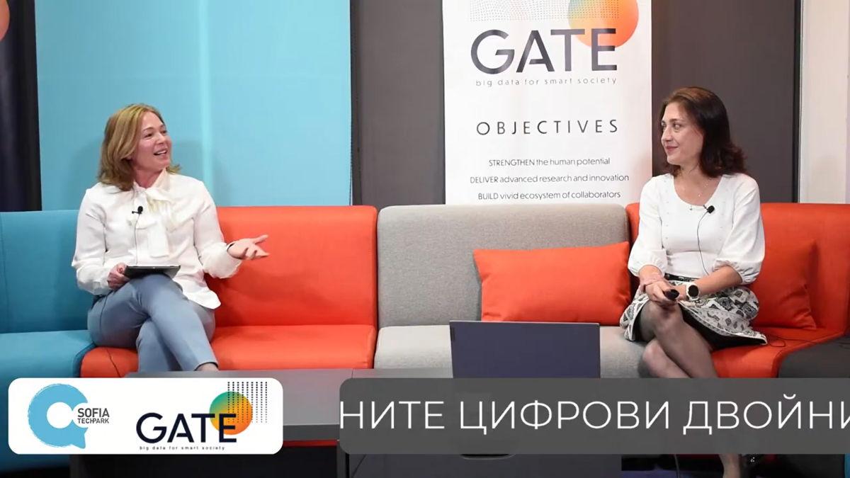 От ляво надясно: проф. д-р Силвия Илиева и доц. д-р Десислава Петрова-Антонова