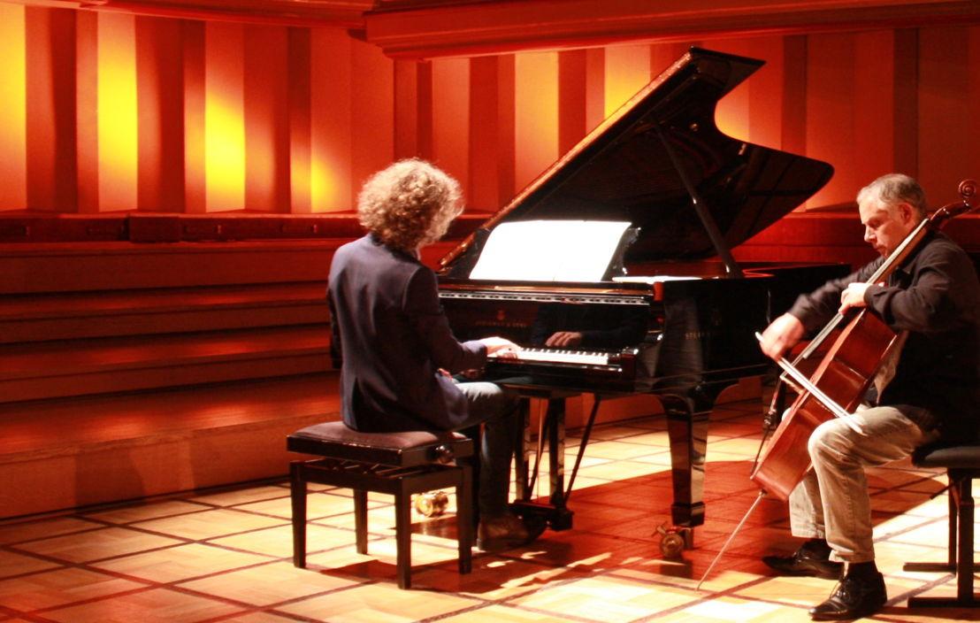 Julien Libeer en Pieter Wispelwey - (c) VRT