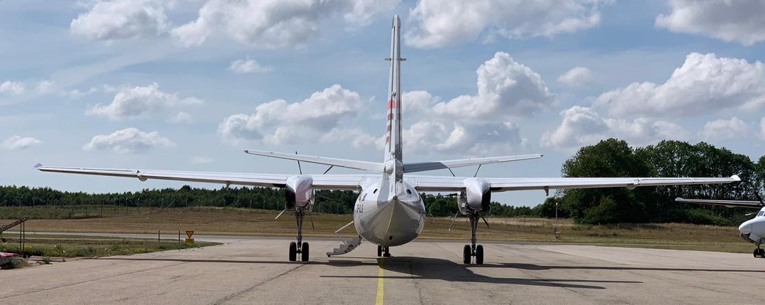 De vluchten op de route Antwerpen – London City Airport worden hervat op 4 mei 2020