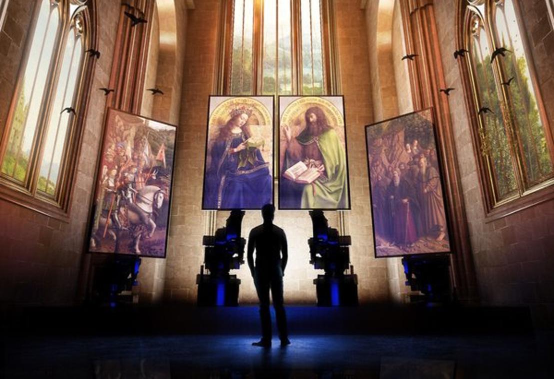 Multimediaal spektakel Lights on Van Eyck zet Vlaamse Meester in de spotlight