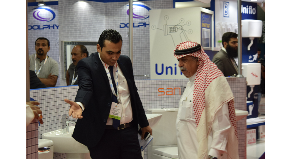 Exhibitor and Buyer at The Big 5 Saudi 2017