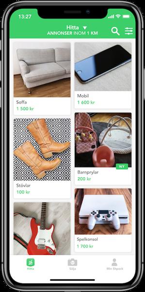 Preview: Över 1,5 miljoner har laddat ner Shpock-appen i Sverige