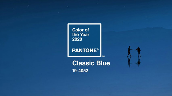 Pantone mania: blue colored vibes coming your way!