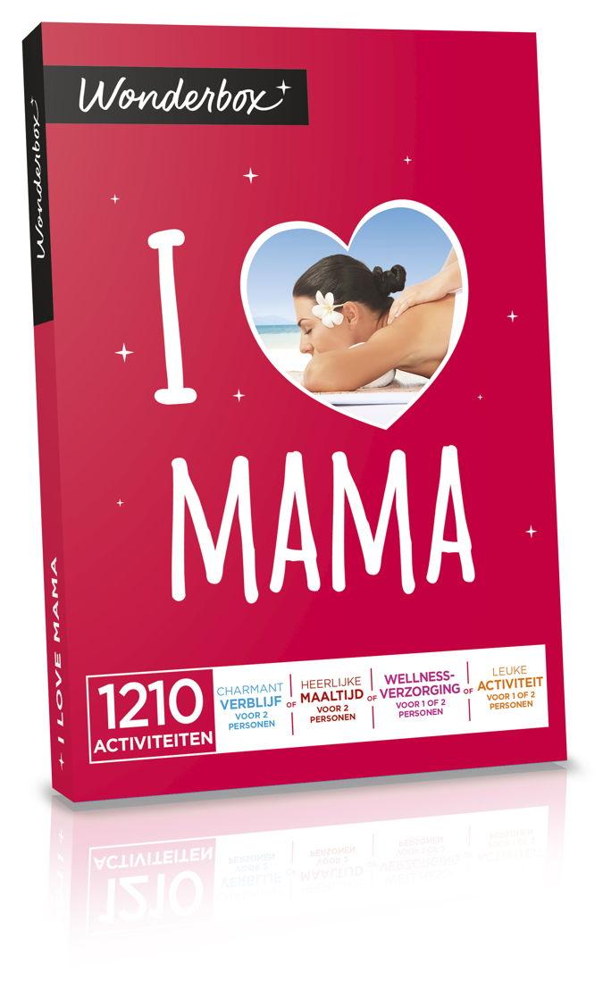 "Wonderbox ""I Love Mama"" - €49,90."