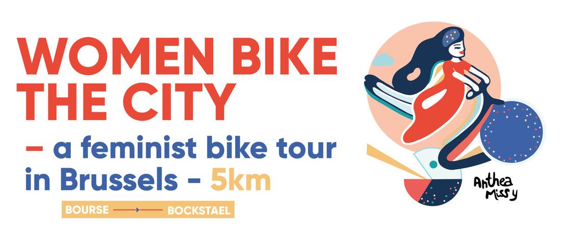 Nieuwe fietsroute in Brussel langs vrouwelijke ankerpunten.