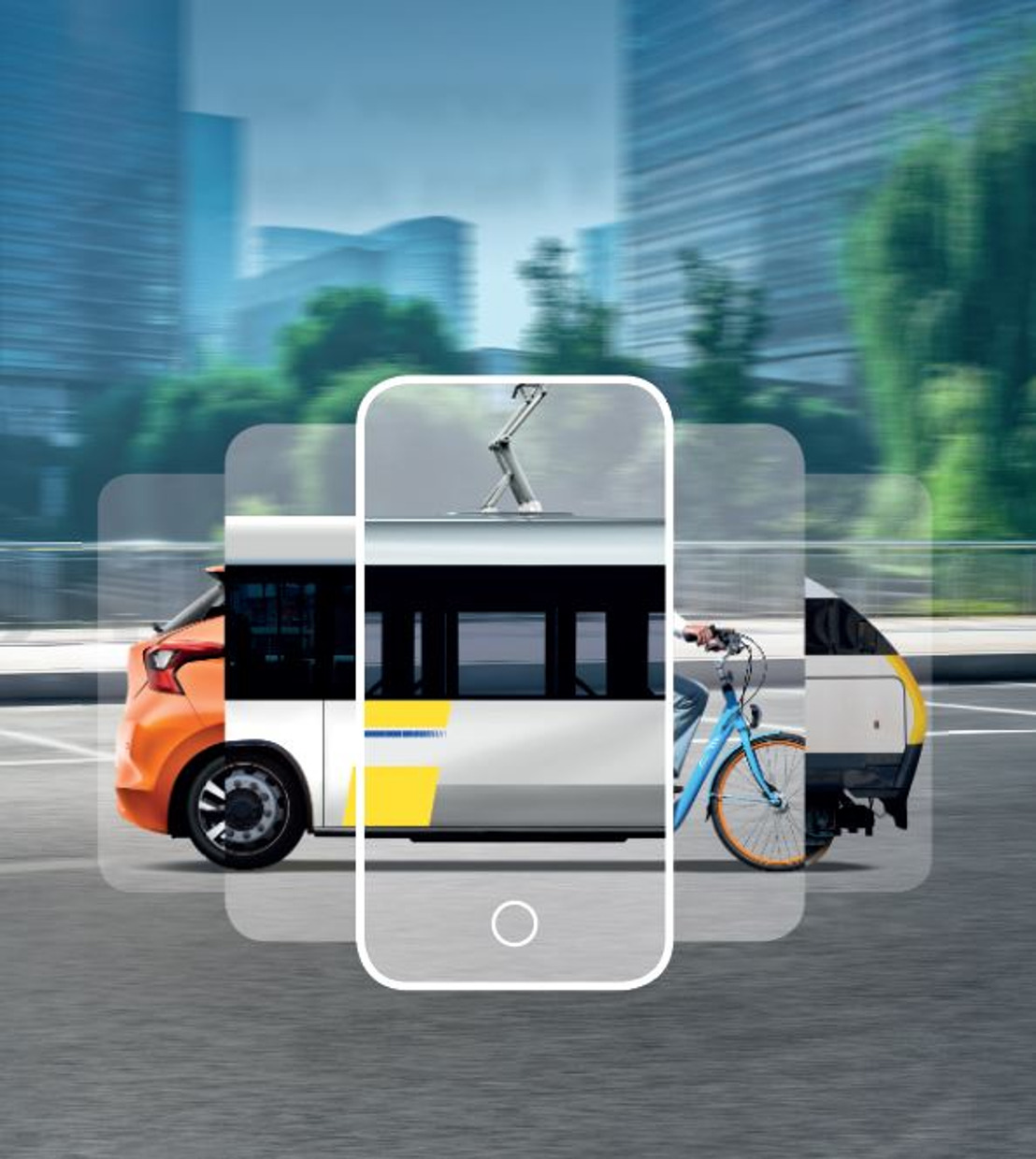 New handy solutions in KBC Mobile for those travelling by car or public transport