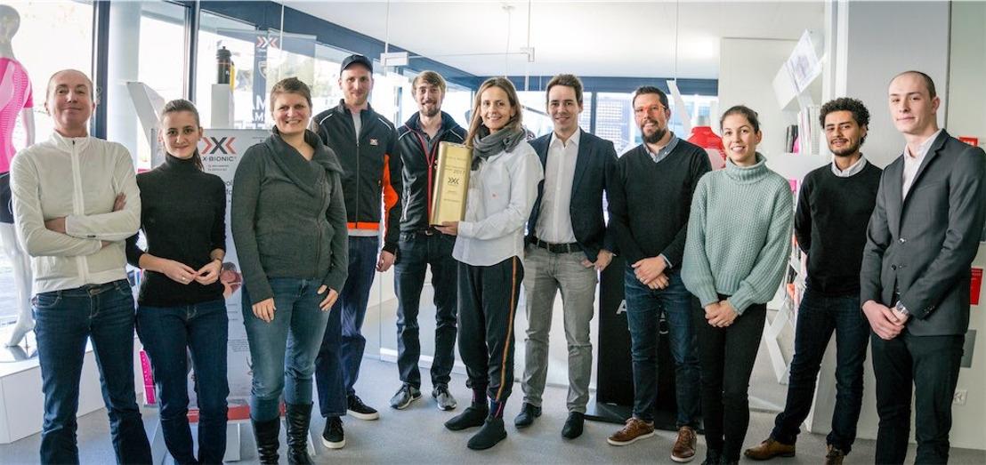 X-BIONIC wird zur innovativsten Marke des Jahres gewählt
