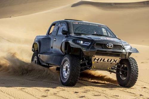 TOYOTA GAZOO Racing Dakar 2022