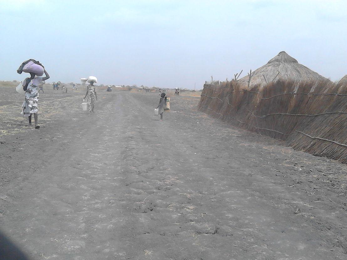 Des réfugiés forcés de fuir Kodok et Aburoc et la violence des combats, (MSF)