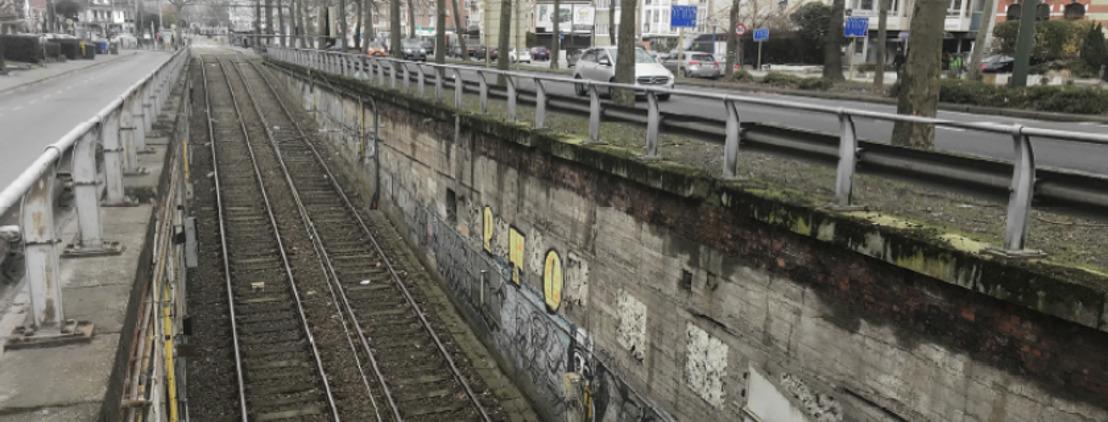 Pour embellir la trémie du pré-métro boulevard Reyers… votez pour votre projet artistique préféré.