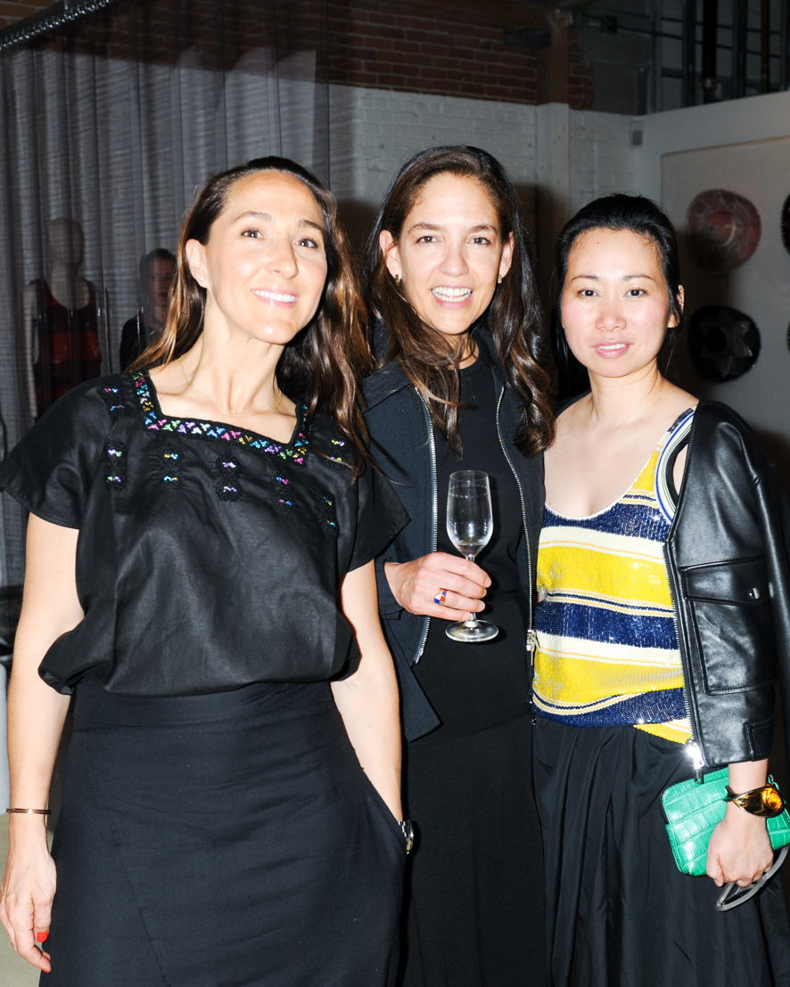 Gabriela Cámara, Bertha González Nieves y Wen Zhou