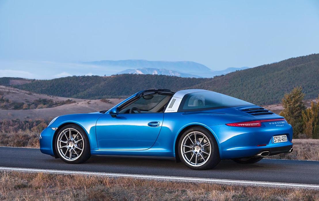 La nouvelle Porsche 911 Targa