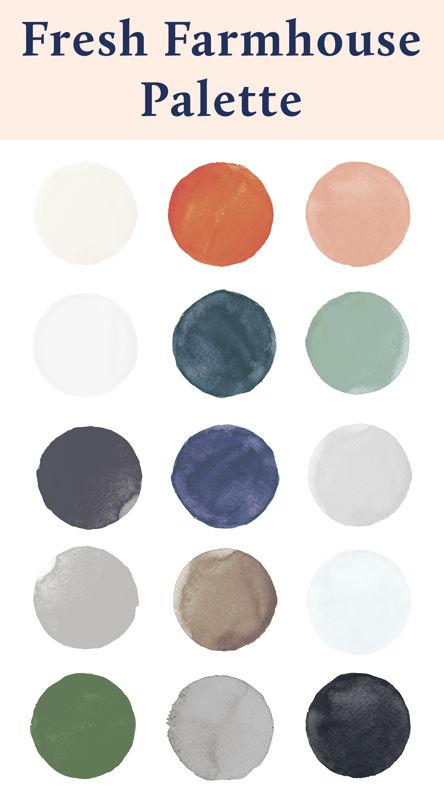 Fresh Farmhouse Palette
