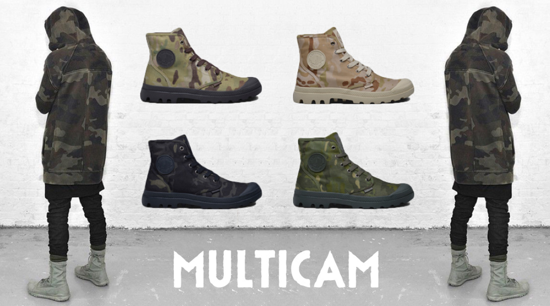 Palladium presenteert: Multicam & Heritage Pack