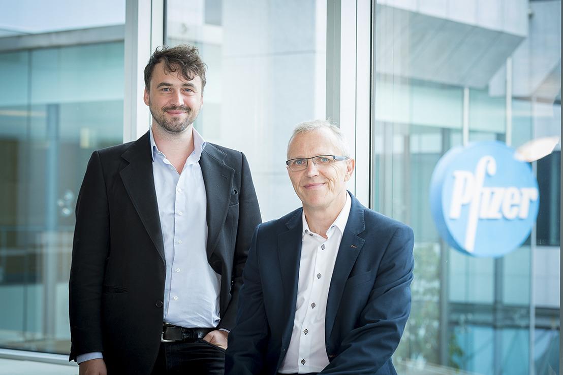 Start it @KBC et Pfizer concluent un partenariat