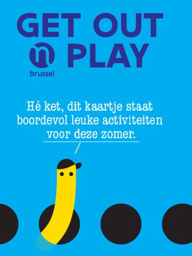"""Persuitnodiging: lancering """"Get out'n Play"""" op Buitenspeeldag 2018"""