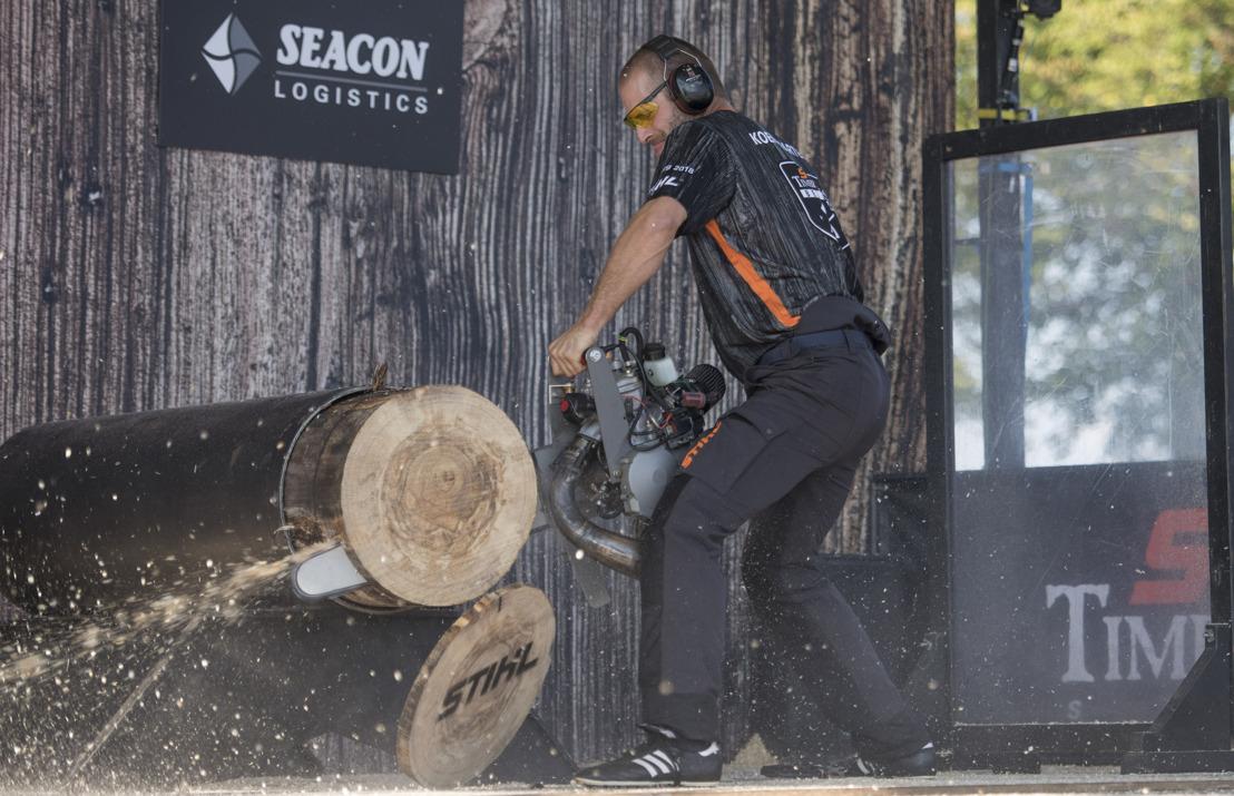 Beste Benelux houthakkers strijden om de titel tijdens STIHL TIMBERSPORTS® Benelux Kampioenschap 2019