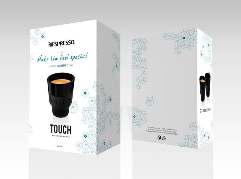 Limited Edition Fête des pères set de 2 tasses Lungo TOUCH Collection, 18 €
