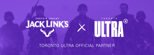 TORONTO ULTRA AND JACK LINK'S SIGN EXCLUSIVE PARTNERSHIP