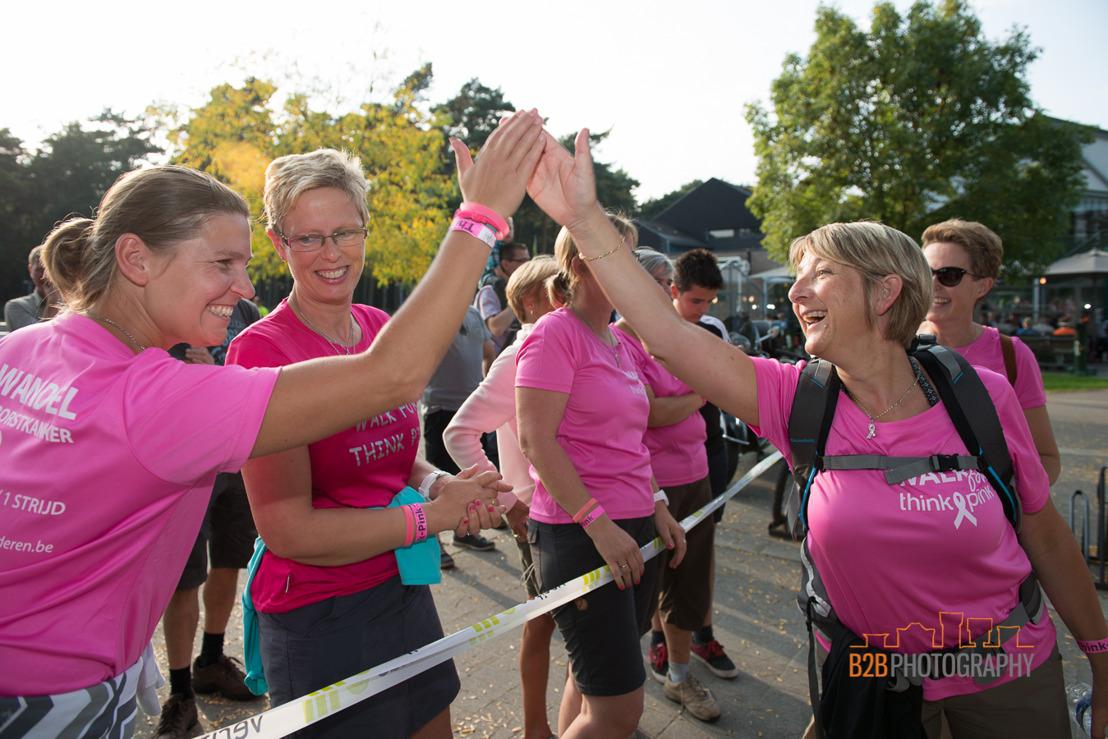 Think-Pink zoekt 100 dames voor sportieve uitdaging