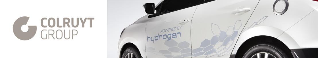 Colruyt Group acquiert la première voiture de série à hydrogène vendue en Belgique.