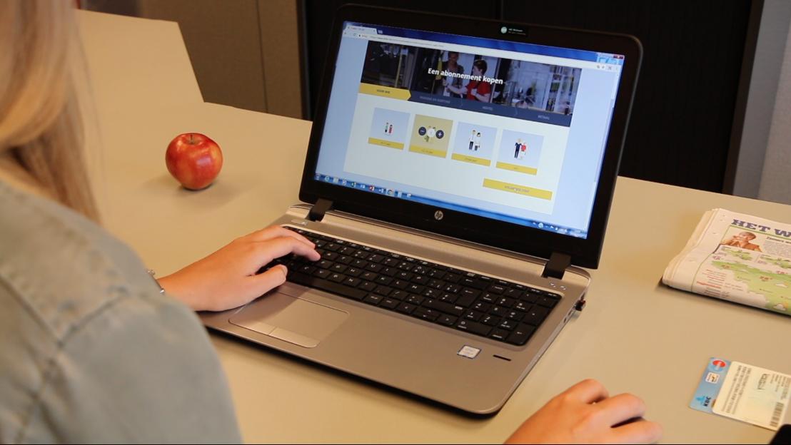 Online een abonnement van De Lijn kopen: gefikst met 1 rijksregisternummer en enkele muisklikken.