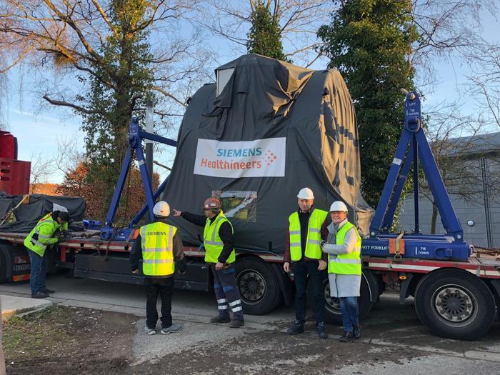 Grande première belge à l'ULiège où Siemens Healthineers installe pour la première fois un scanner IRM 7 Tesla