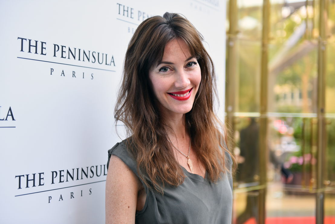 Mareva Galanter, Miss Francia. FOTO: Cortesía de Say Who para The Peninsula Paris.