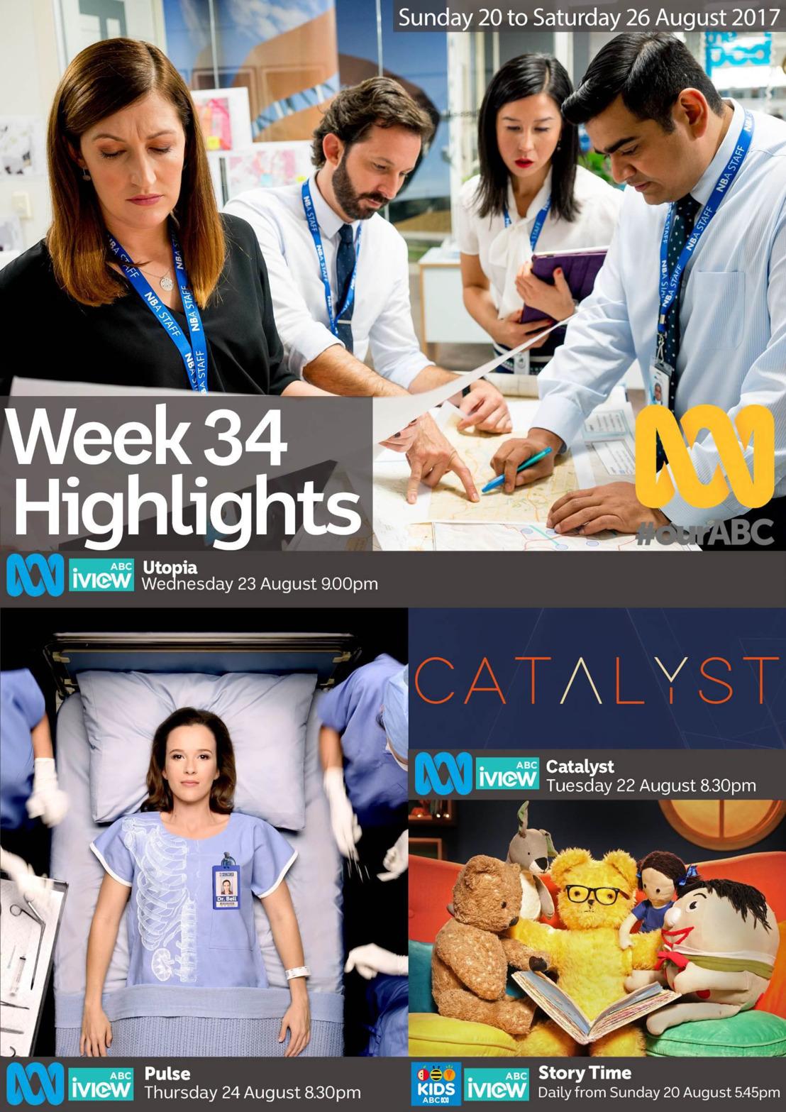 ABC Program Highlights - Week 34