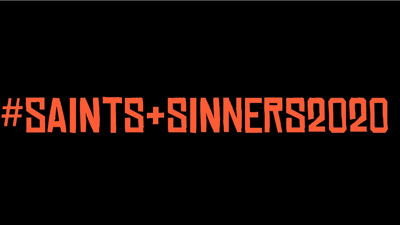 Saints & Sinners press room