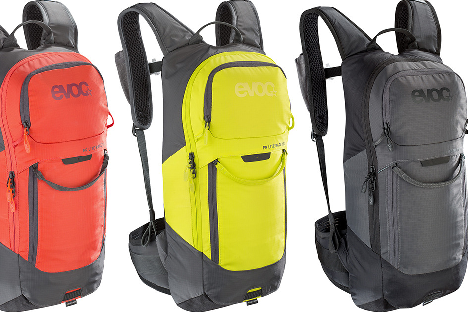 100115124-M//L Mochila de protecci/ón de carbono unisex para adulto mochila protectora Unisex adulto Evoc Sports GmbH FR Lite Race Grigio Carbonio//Grigio M-L