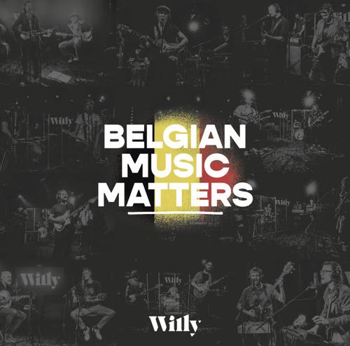 Radiozender Willy brengt eerste LP uit: Belgian Music Matters volume 1