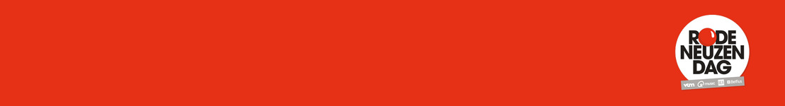 'Porselein' is dé Rode Neuzen Dag song