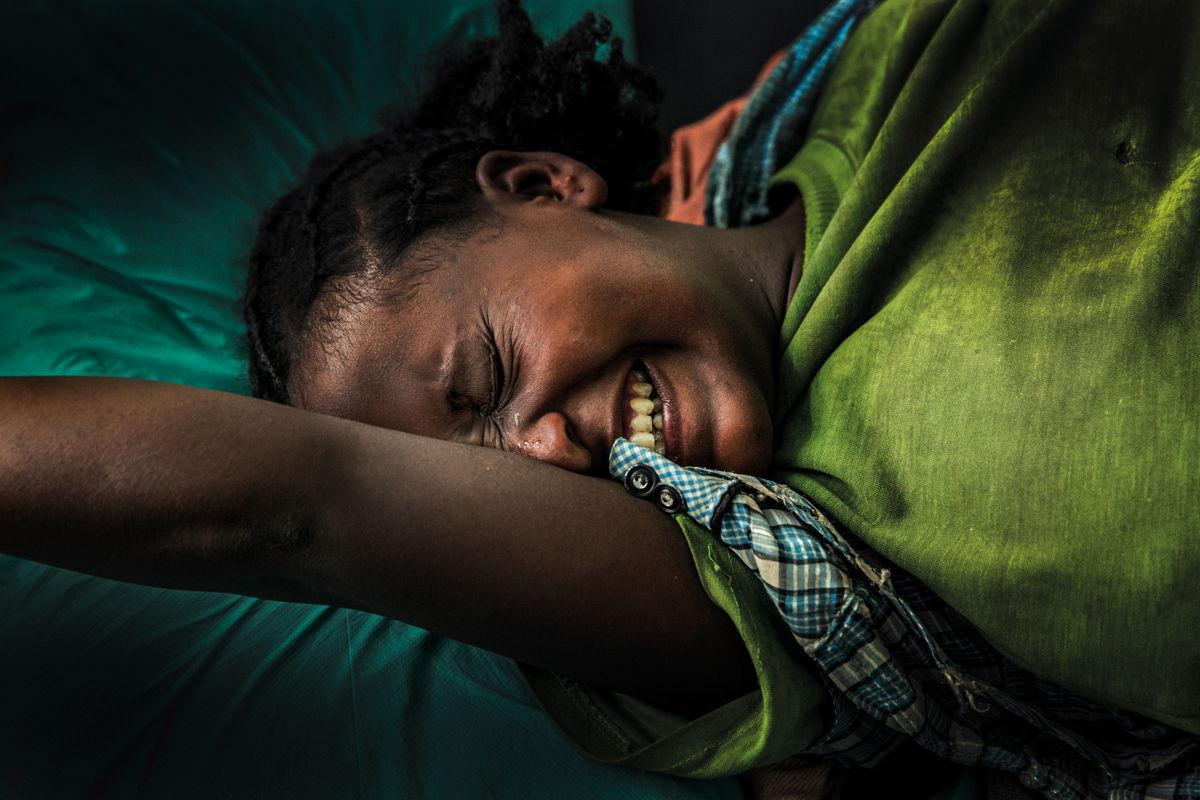 Trabajo de parto de Barakat, Etiopía. Juan Carlos Tomasi/MSF
