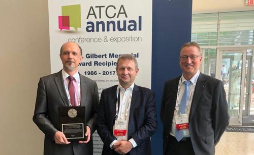 Johan Decuyper ontvangt prestigieuze ATCA-award in VS
