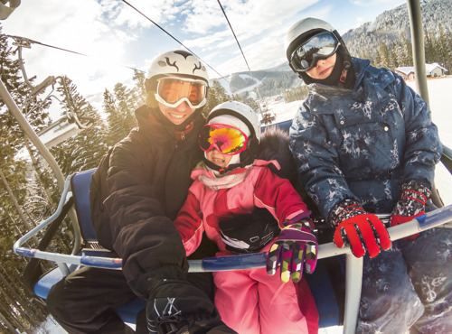 Met je gezin op skireis