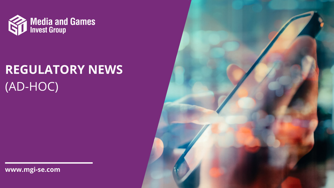 Media and Games Invest envisaged to close Smaato acquisition on September 1, 2021. Board decides to focus on scalable Media SaaS business and close the low-margin influencer- and performance business