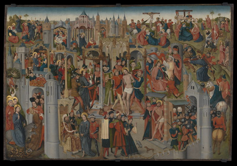 The Passion of the Christ, Brabant, c. 1470–1490 © Lukas - Art in Flanders, foto Dominique Provost
