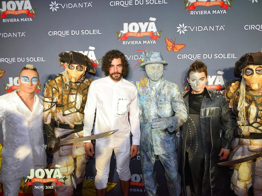 Vidanta Resorts anuncia el primer aniversario de JOYÀ de Cirque du Soleil en la Riviera Maya