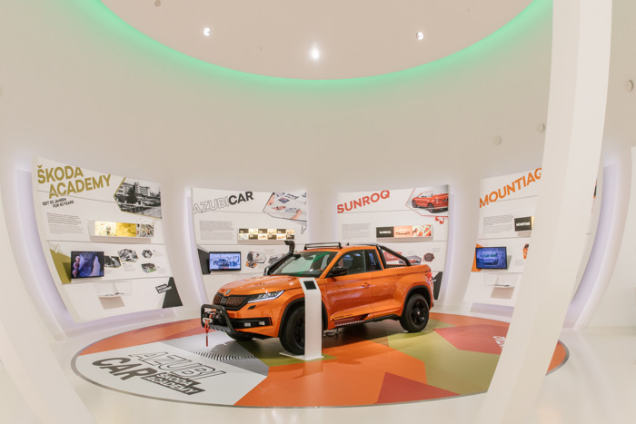 ŠKODA AUTO showing two apprentice cars for first time at Autostadt in Wolfsburg