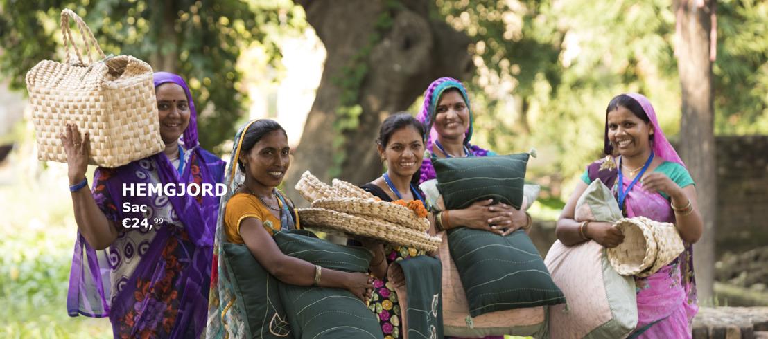 IKEA fait appel au savoir-faire des femmes indiennes pour créer HEMGJORD