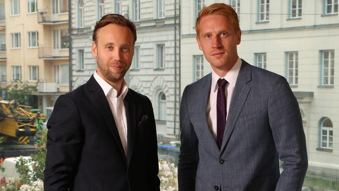 Cofounders Johan Ryman and Erik Åkerfeldt